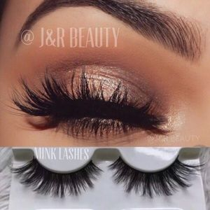 Other - Mink lashes 3D 3 Pairs